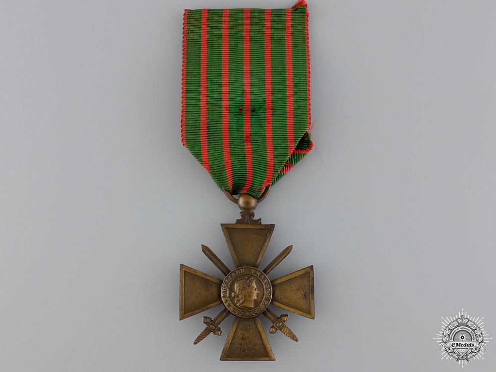 A French 1914-1917 Croix de Guerre