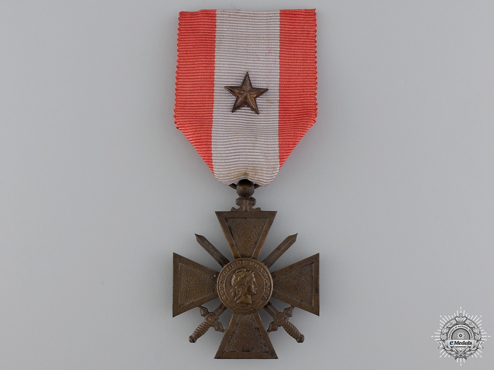 A French 1939-1945 Croix de Guerre for Exterior Theatres of Operations