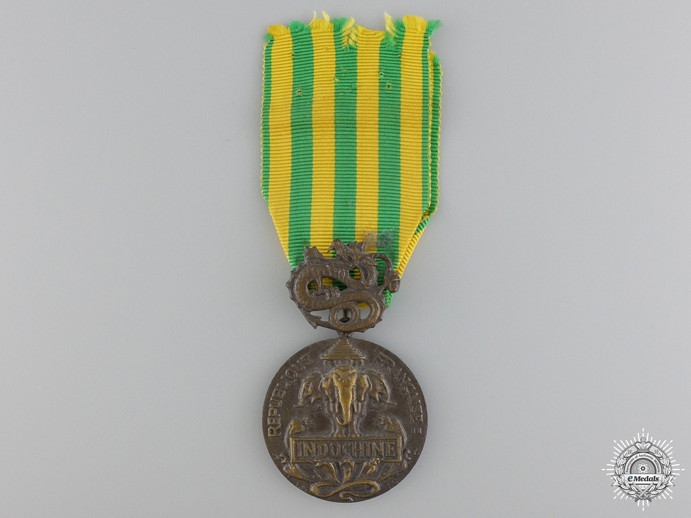 A French Indochina Service Medal