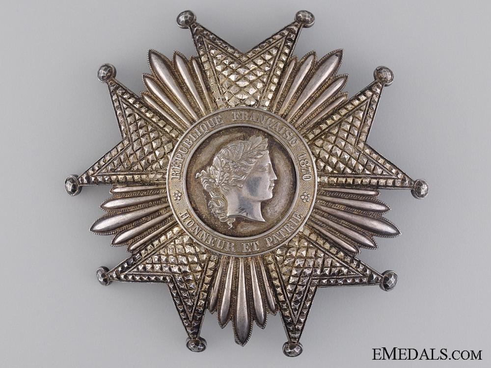 A French Legion D'Honneur; Grand Cross Star