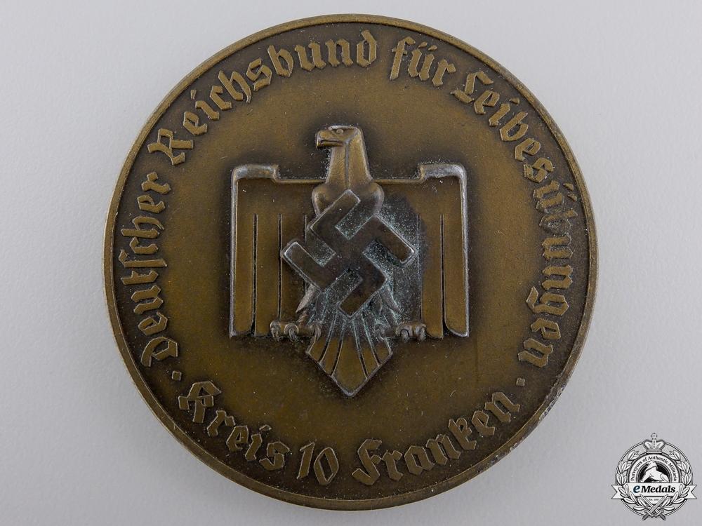 A GAU Franken Winner's Medal for Physical Education