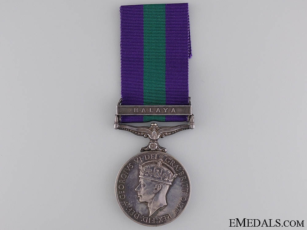 A General Service Medal to the Army Ordinance Corps
