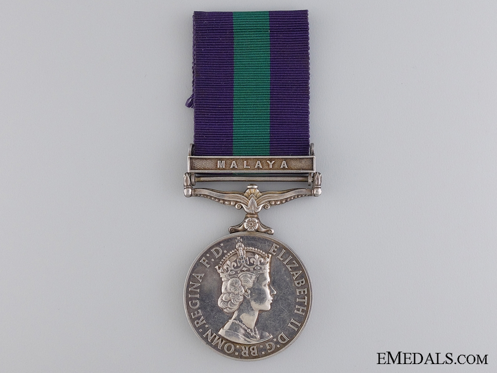 A General Service Medal 1918-1962 to the Royal Engineers