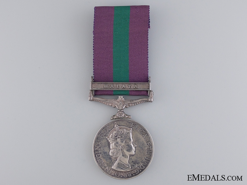 A General Service Medal 1918-1962 to the Royal Army Service Corps