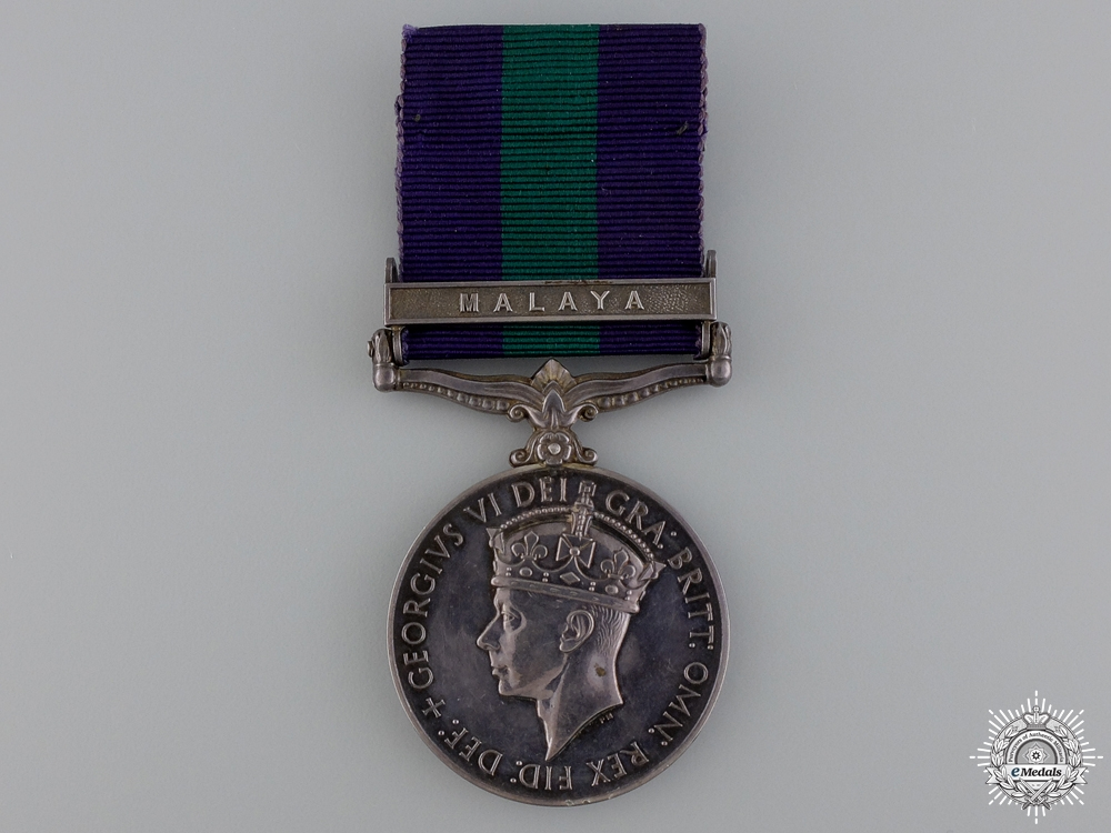 A General Service Medal to the 6th Gurkha Rifles