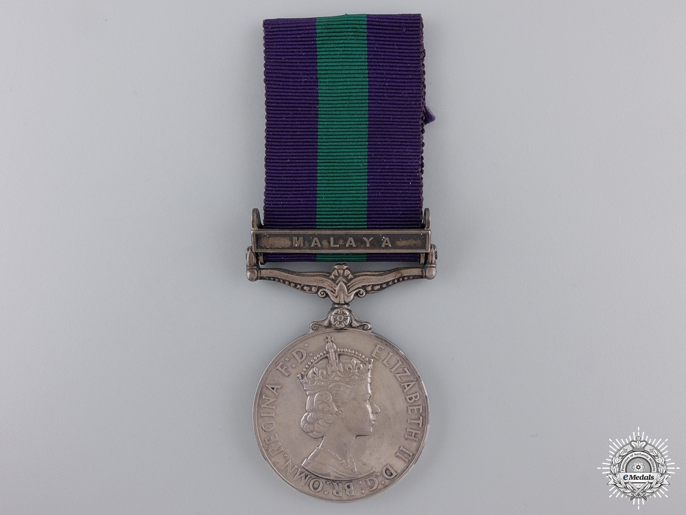 A General Service Medal 1918-1962 to the Royal Signals