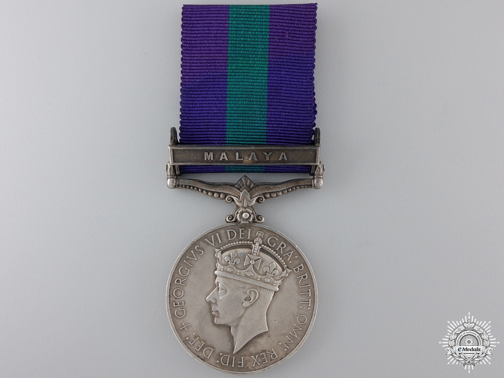 A General Service Medal 1918-1962 to the Royal Air Force