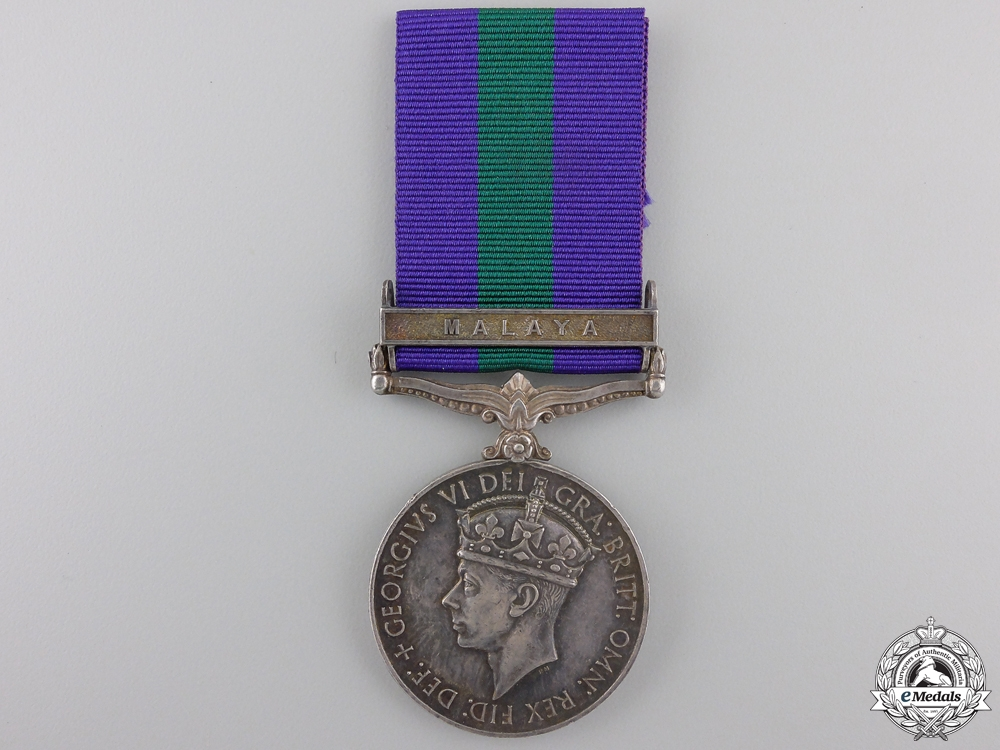 A General Service Medal to the Singapore Police