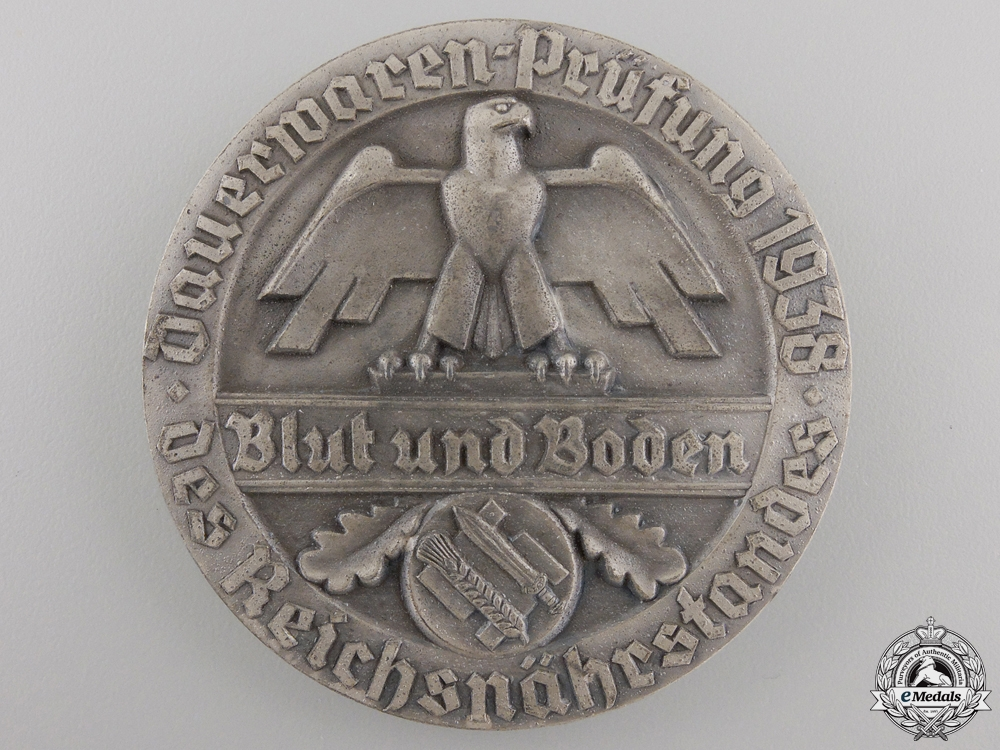 A German Agricultural Award; Blood & Soil