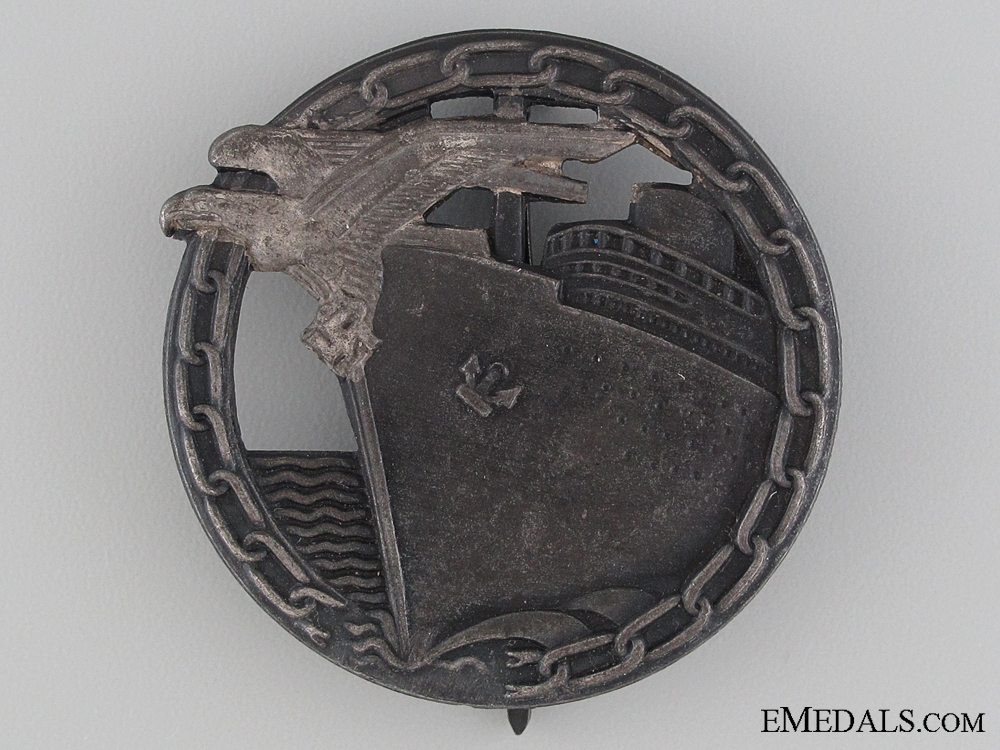 A German Blockade Runner Badge by Schwerin