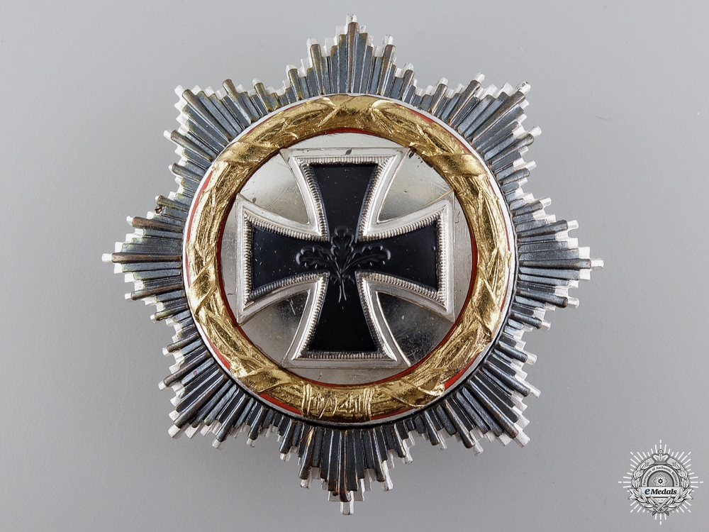 A German Cross in Gold; 1957 Version