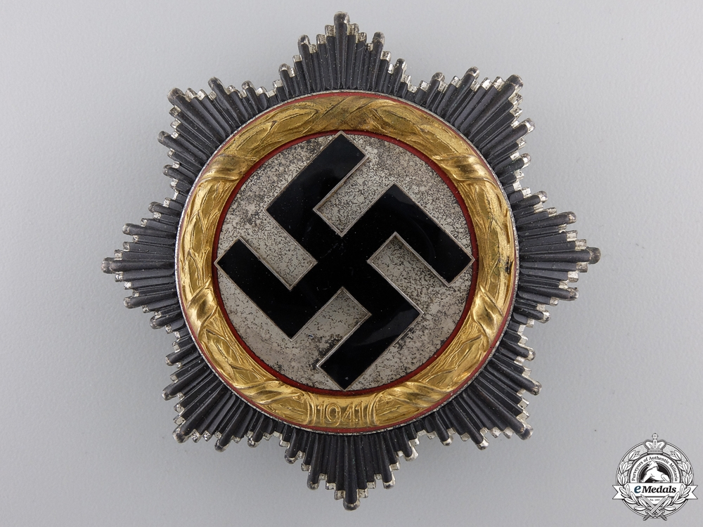 A German Cross in Gold by Zimmermann; Light Version