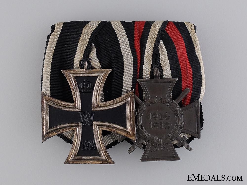 A German First War Medal Pair