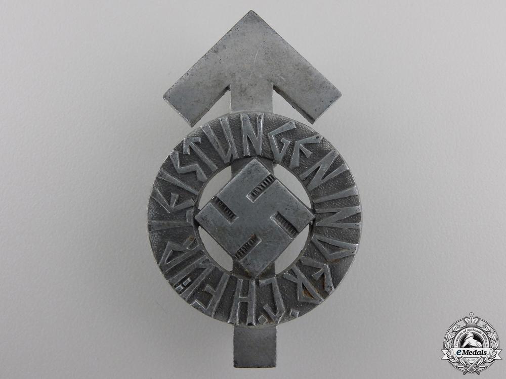 A German HJ Proficiency Badge by Karl Wurster