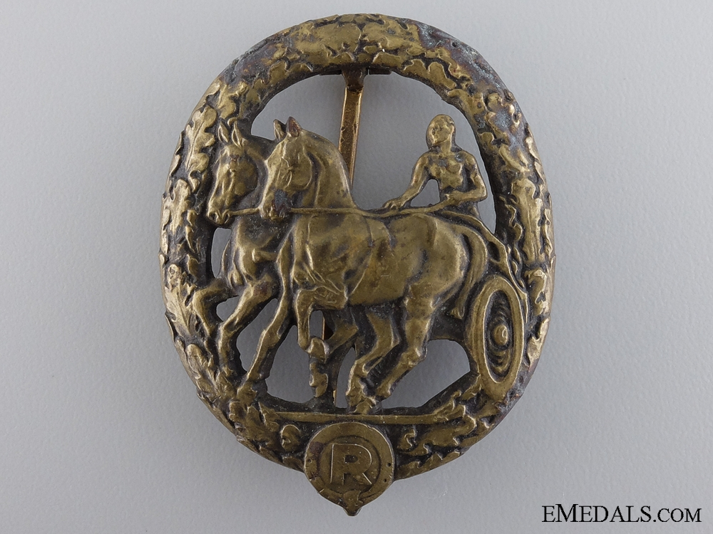 "A German Horse Driver""¢¯s Badge"