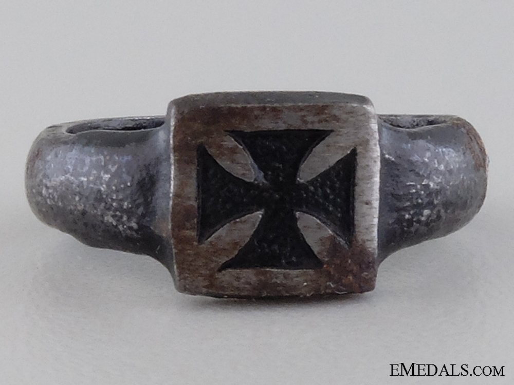 A German Imperial Iron Cross Ring 1914-15