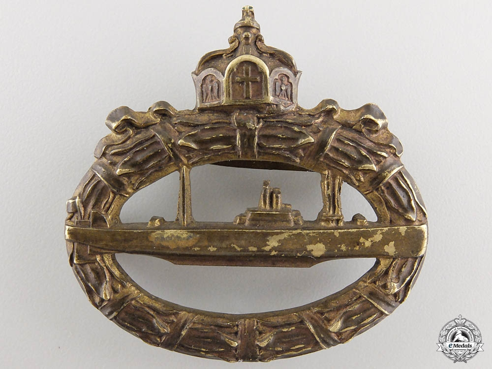 A German Imperial Submarine War Badge 1918