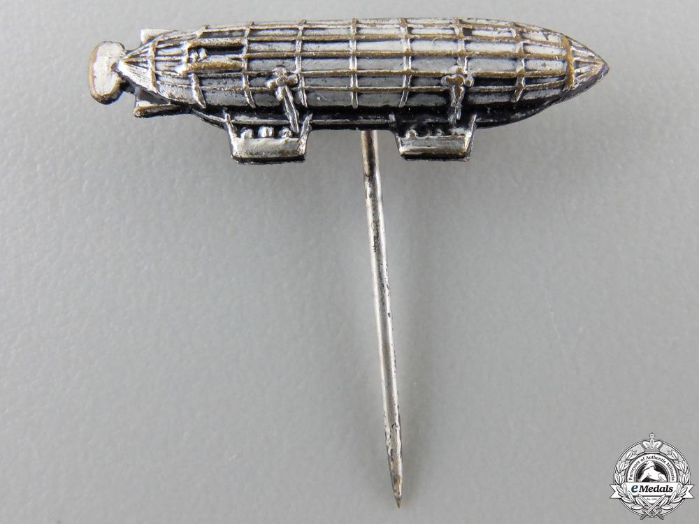 A German Imperial Dual Gondola Zeppelin Stickpin