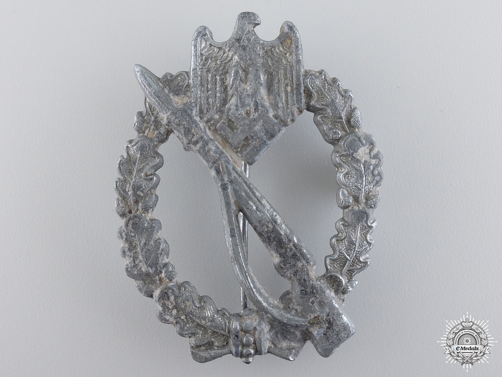 A German Infantry Badge by Ernst L Müller