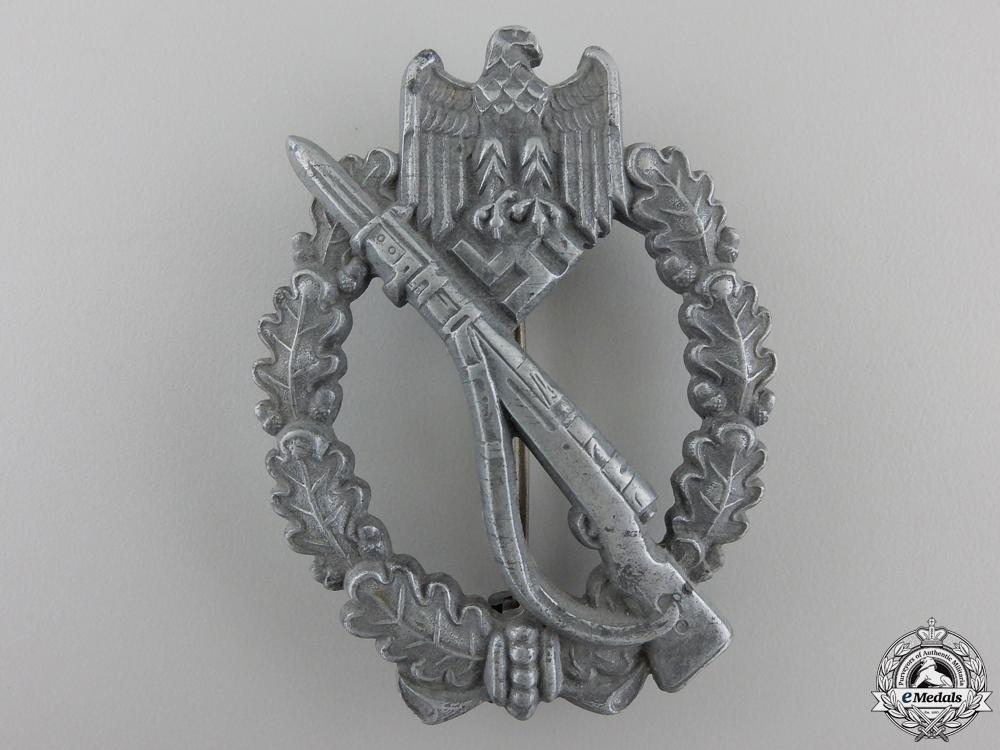 A German Infantry Badge by Friedrich Linden, Lüdenscheid