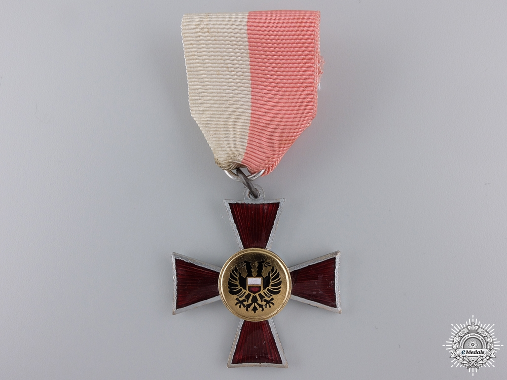A German Lubeck Hanseatic Cross