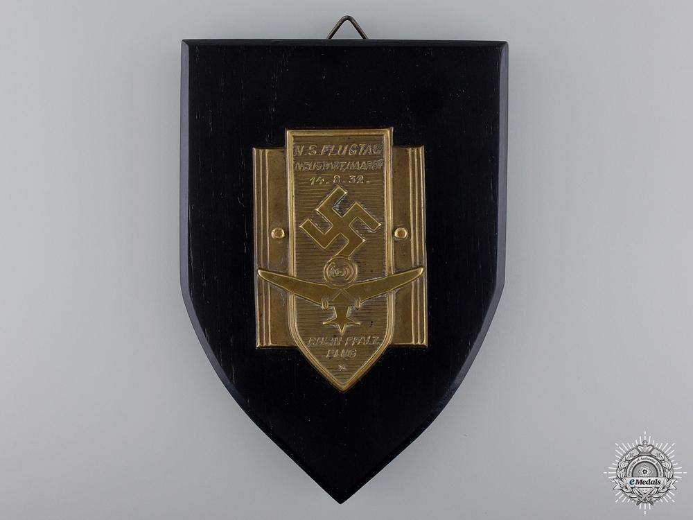 A German National Socialist Flying Day Award