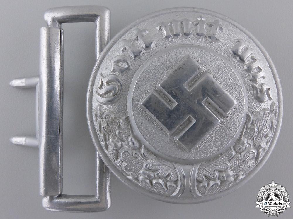A German Police Officer's Buckle by Assmann