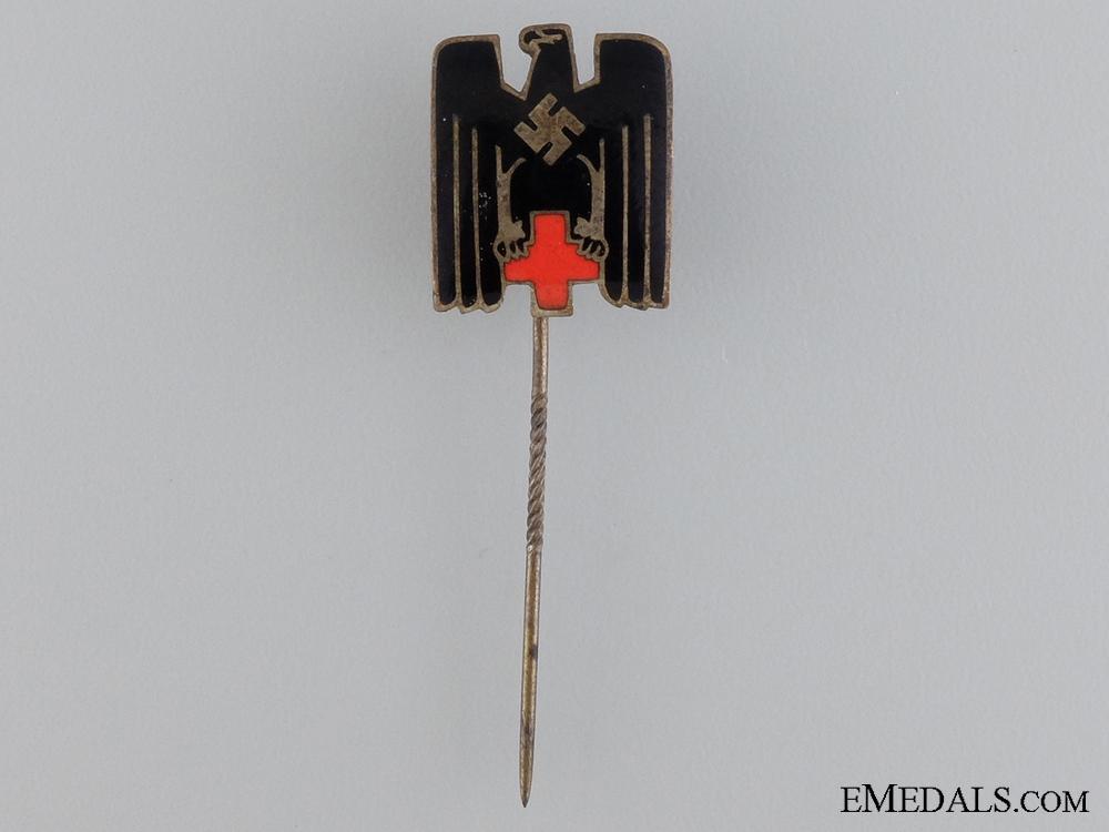 A German Red Cross Membership Stickpin; Type IV