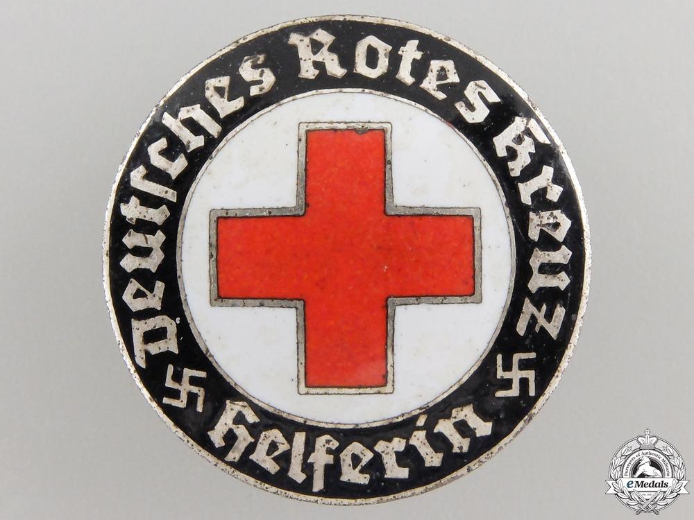 A German Red Cross (DRK) Helper's Broach by Hermann Aurich