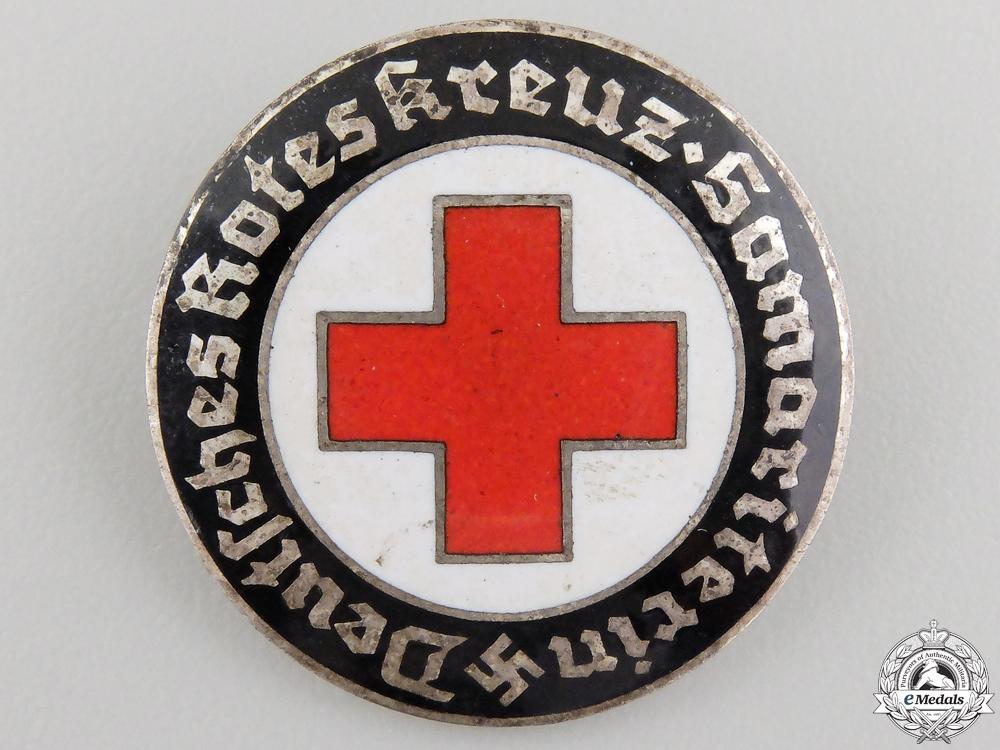 A German Red Cross Volunteer's Badge