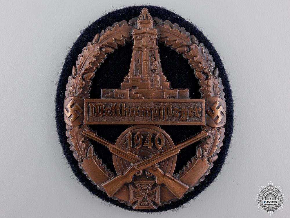 A German State Soldier's Association Marksmanship Award