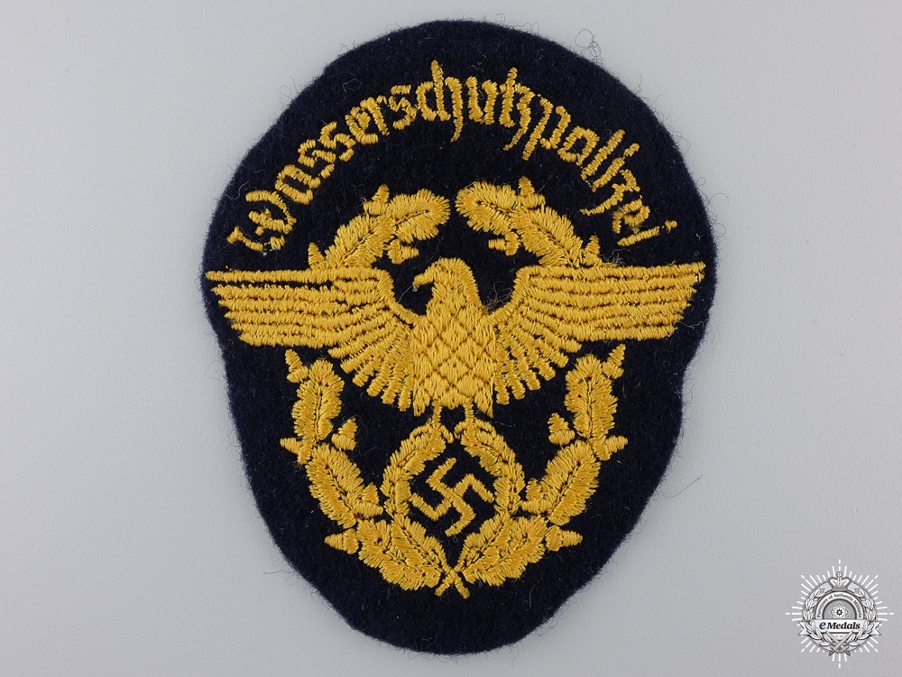 A German Water Constabulary Sleeve Patch