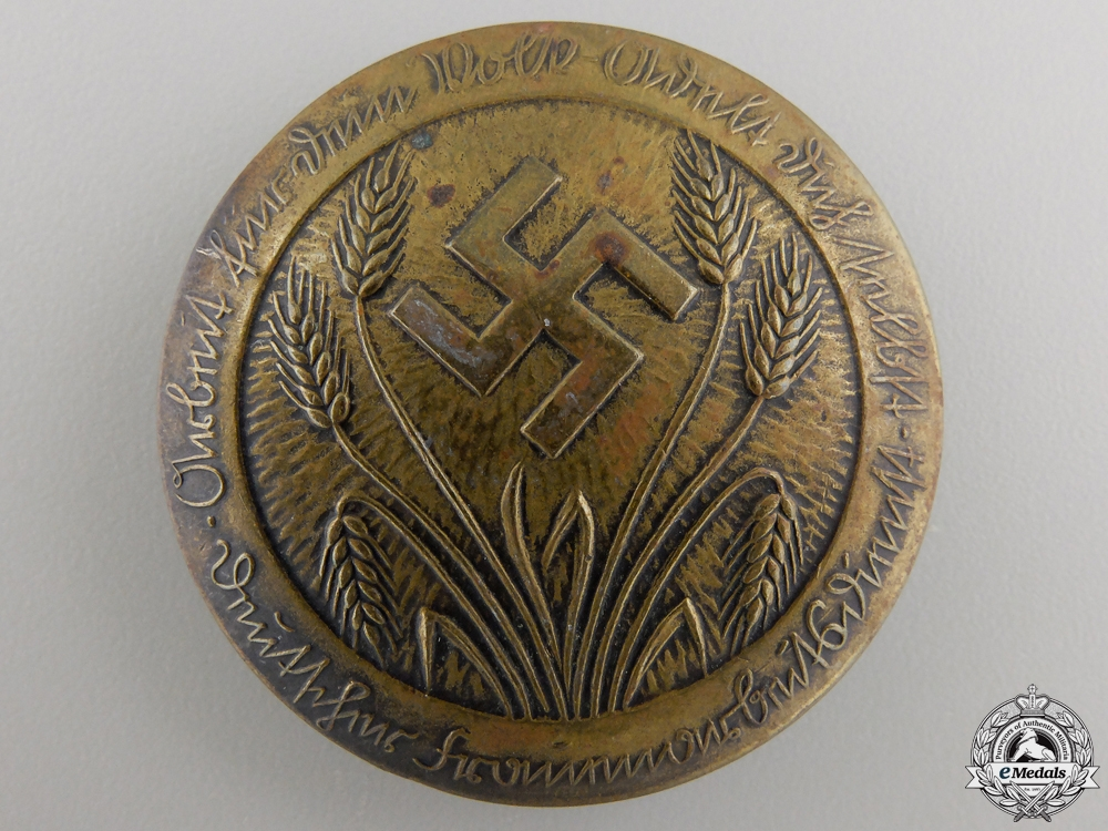 A German Womens Labor Service Rank Broach