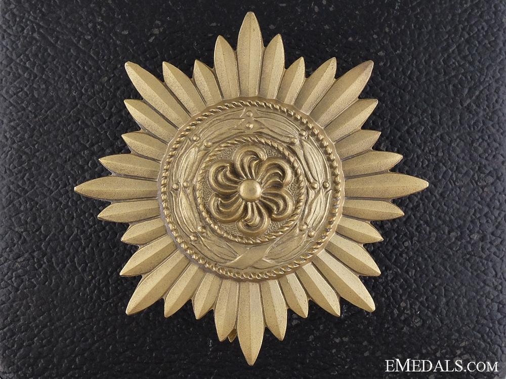 A Gold Grade Ostvolk Decoration for Merit on the Eastern Front