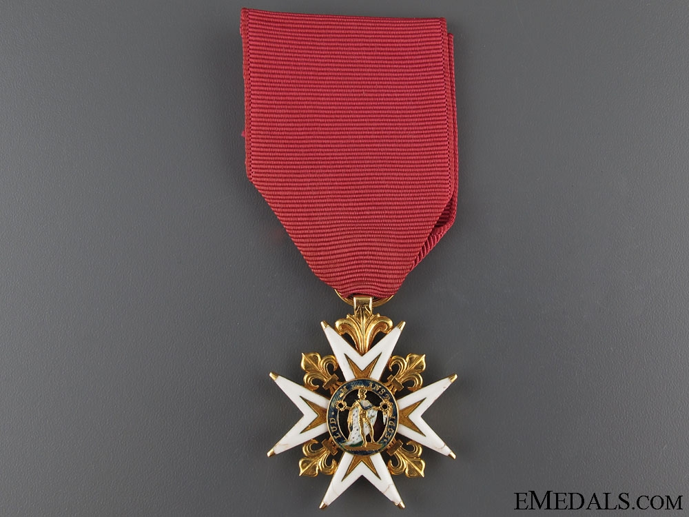 A Gold Royal Military Order of St. Louis