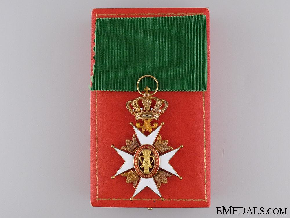 A Gold Swedish Order of Vasa by C.F.Carlman