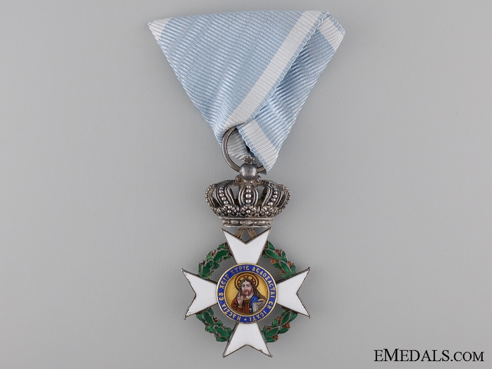 A Greek Order of the Redeemer; Knight's Cross