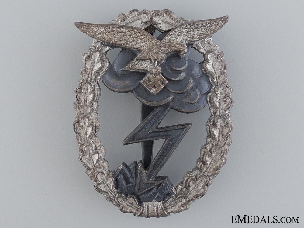 """A Ground Assault Badge; Marked """"M.u.K. 5"""""""