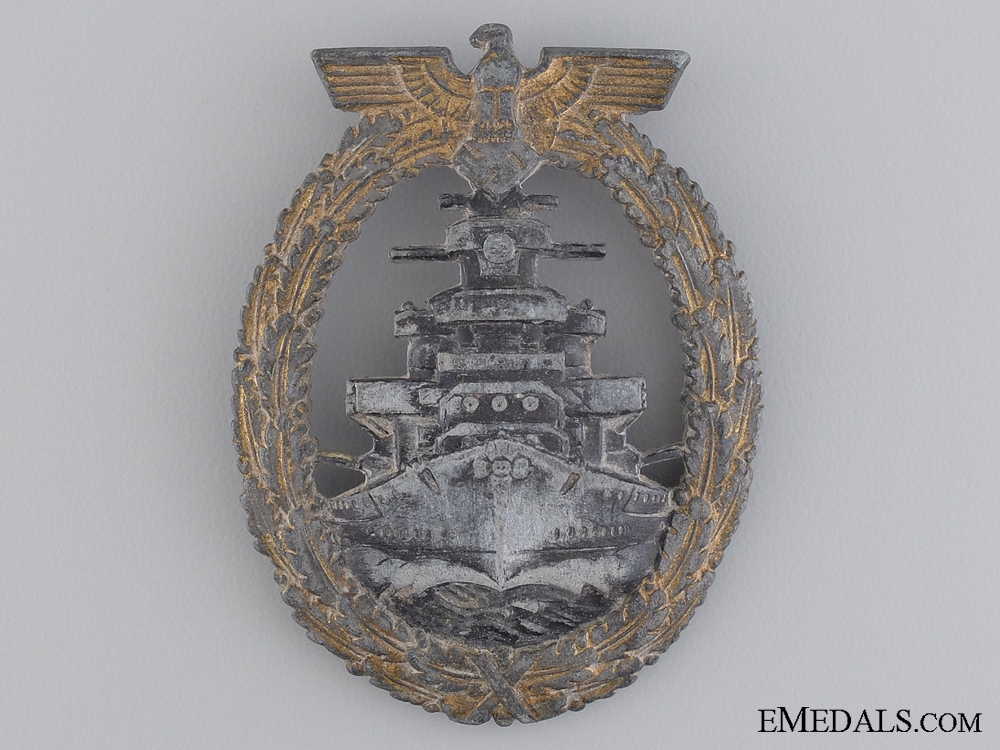 A High Seas Fleet Badge by Richard Simm & Söhne, Gablonz