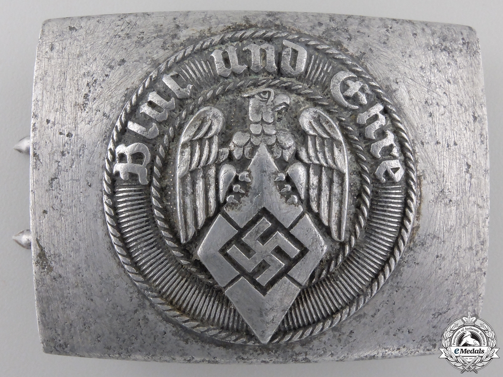 A HJ Members Belt Buckle by Richard Sieper & Söhne