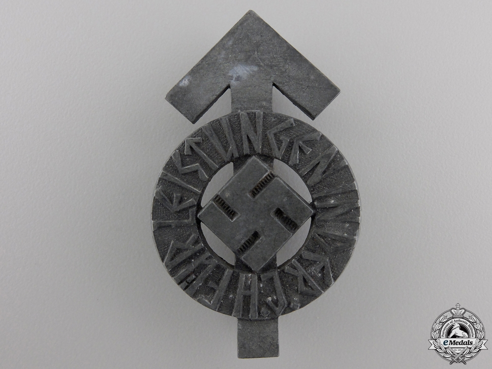 A HJ Proficiency Badge; Silver Grade