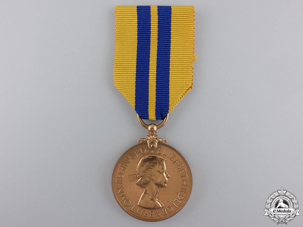 A Hong Kong Royal Naval Dockyard Police Long Service Medal