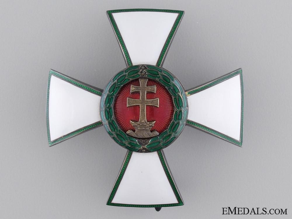 A Hungarian Order of Merit; Officer's Cross
