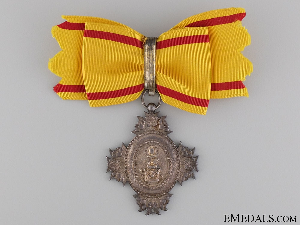 A Japanese Order of the Sacred Crown; 8th Class