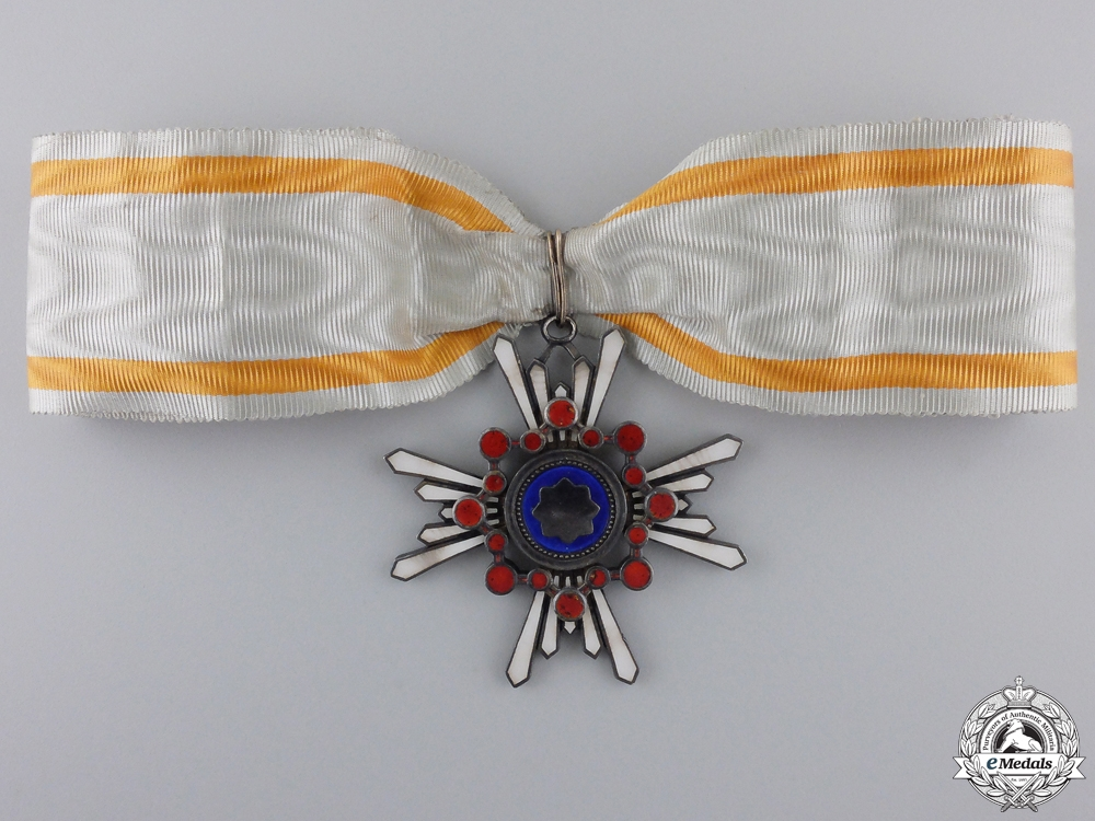 Japan, Empire. An Order of the Sacred Treasure, III Class Commander, c.1935