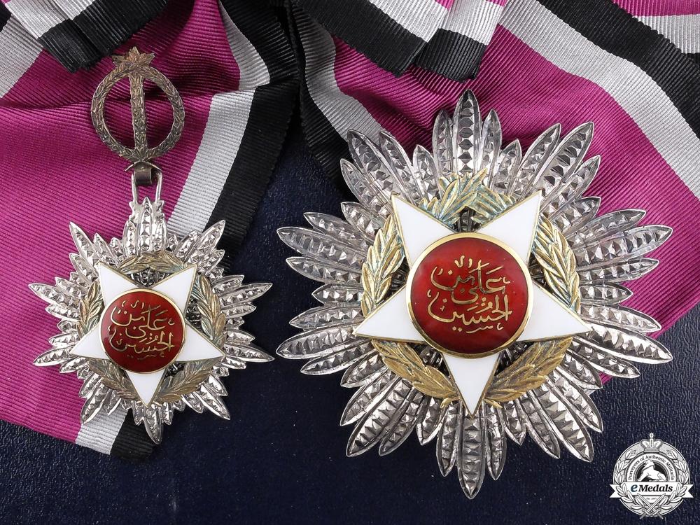 A Jordanian Order of Al-Istiklal; Grand Cross Set by G & Co Ltd