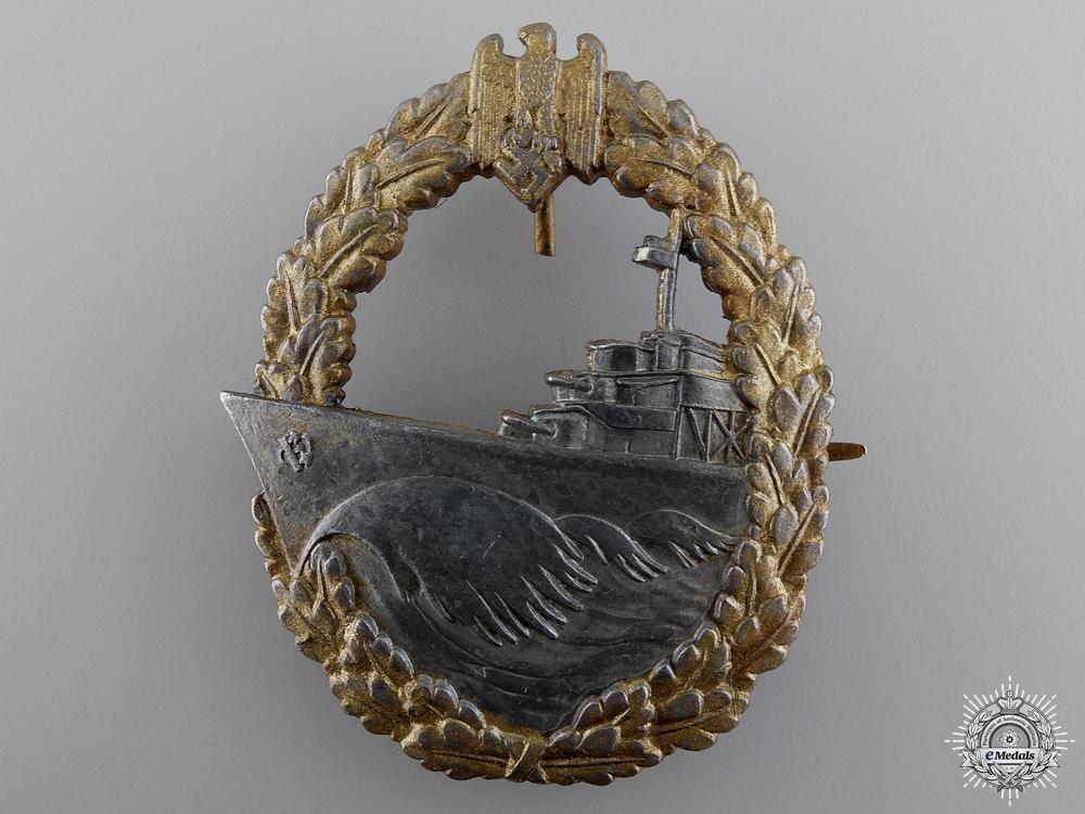 A Kriegsmarine Destroyer Badge