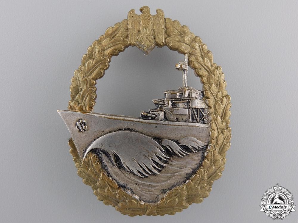 A Kriegsmarine Destroyer War Badge