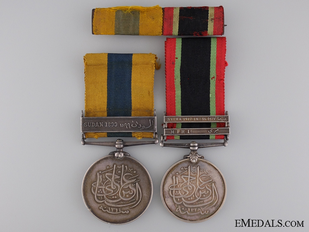 A Late Victorian Sudanese Campaign Medal Pair