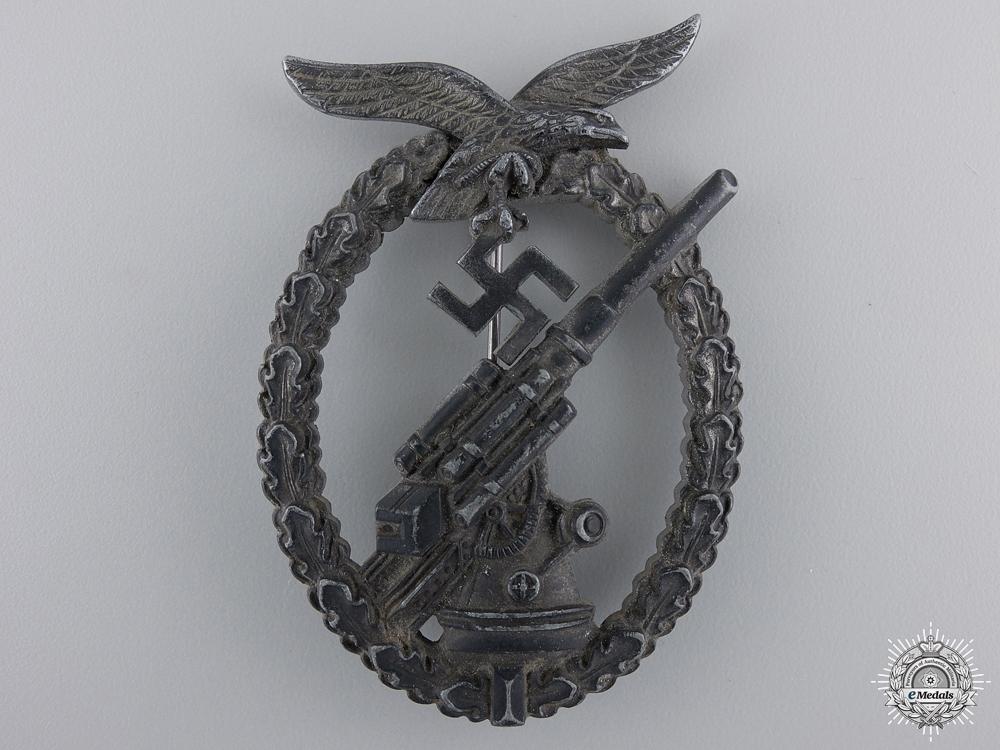 A Late War Luftwaffe Flak Badge